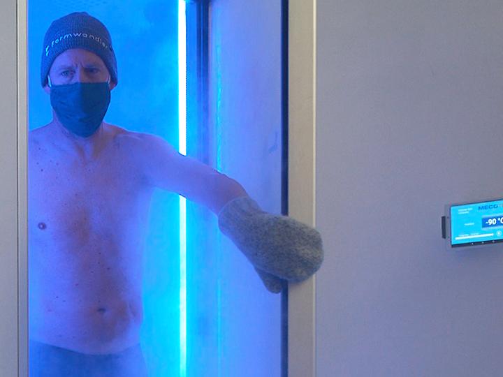 Kältekammer fördert Durchblutung und verbessert die Haut